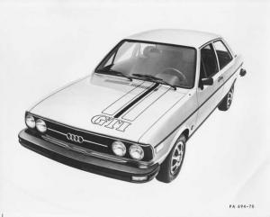 1978 Audi Fox GTI Press Photo and Release 0004