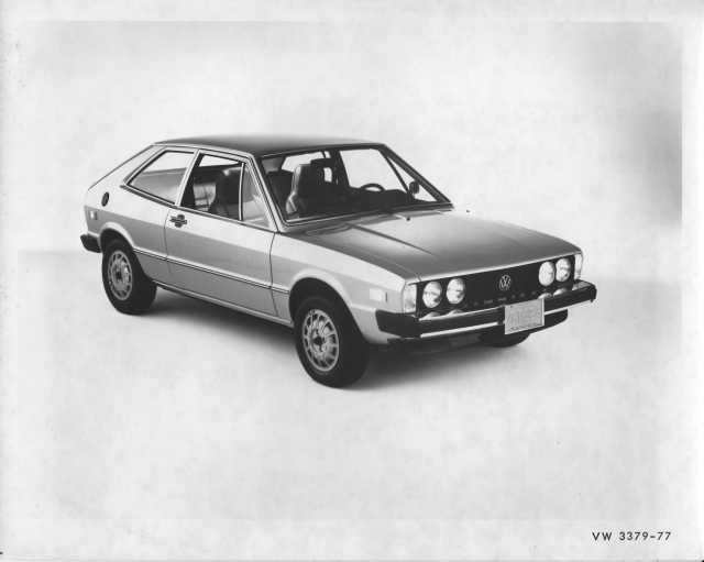 1977 VW Volkswagen Scirocco Press Photo and Release 0024
