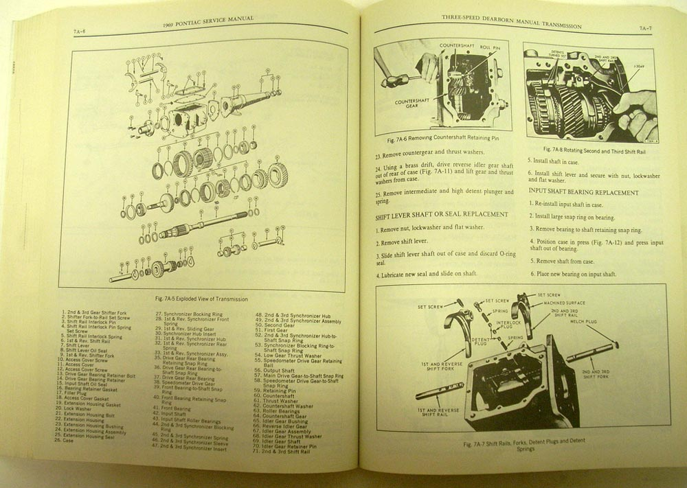 service manual  car repair manuals online free 1969