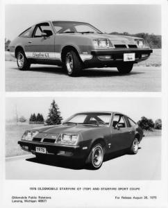 1976 Oldsmobile Starfire GT and Sport Coupe Factory Press Photo 0209