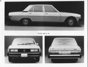 1978 Peugeot 604 SL V6 Press Photo 0010