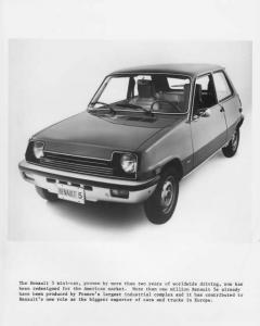1976 Renault 5 LeCar Press Photo 0001