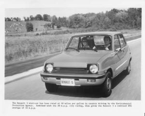 1976 Renault 5 LeCar Press Photo 0002