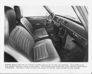 1976 Renault 5 LeCar Interior Press Photo 0003