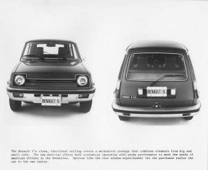 1976 Renault 5 LeCar Press Photo 0004