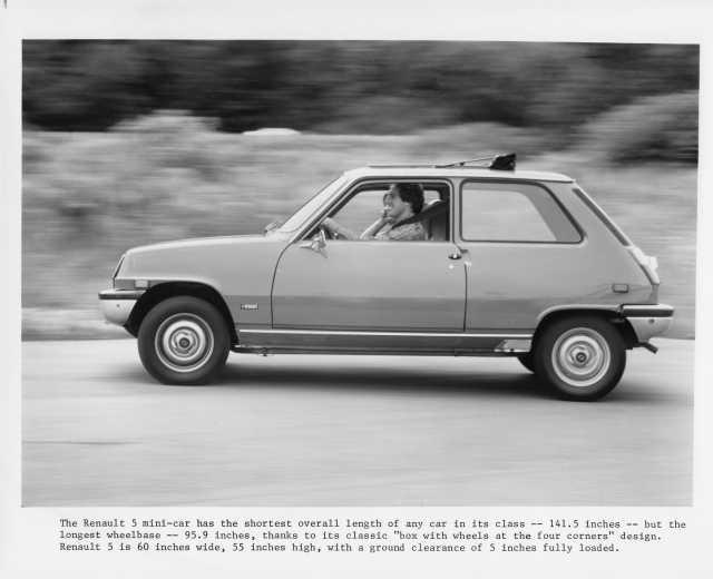 1976 Renault 5 Mini Car LeCar Press Photo 0005