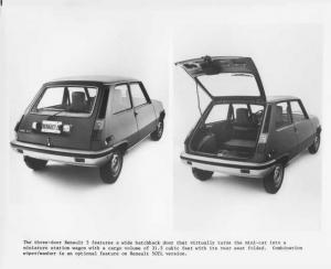 1976 Renault 5 LeCar Press Photo 0007