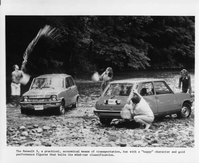 1976 Renault 5 LeCar Press Photo 0008