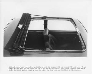 1976 Renault 5 LeCar Sunroof Press Photo 0009