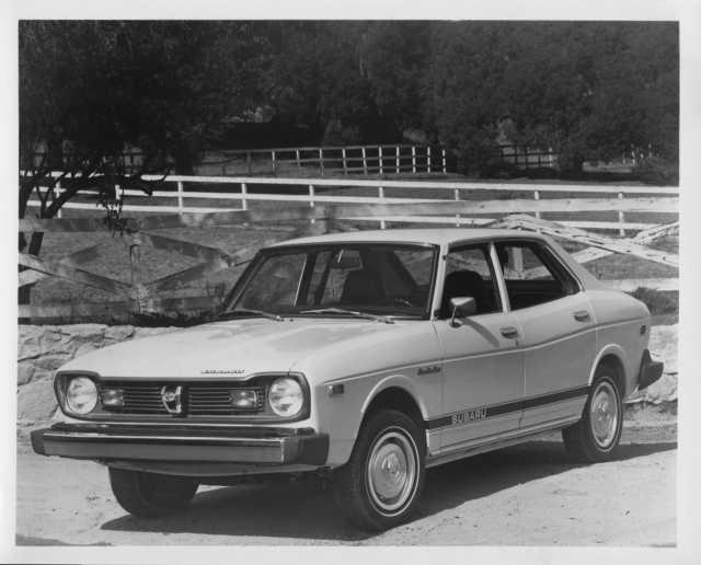 1976 Subaru DL 4-Door Sedan Press Photo and Release 0006