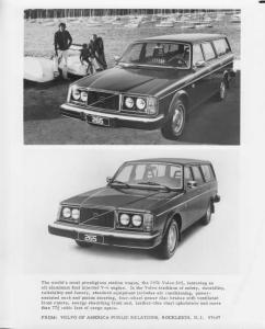 1976 Volvo 265 Station Wagon Press Photo 0002