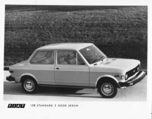1976 Fiat 128 Standard 2 Door Sedan Press Photo 0002
