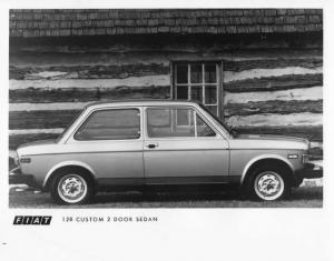 1976 Fiat 128 Custom 2 Door Sedan Press Photo 0003