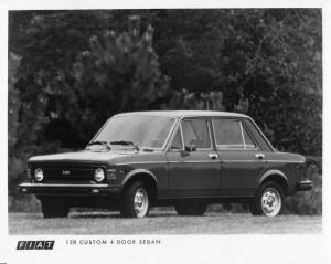 1976 Fiat 128 Custom 4 Door Sedan Press Photo 0004
