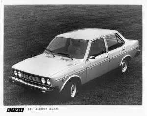 1976 Fiat 131 4-Door Sedan Press Photo 0007
