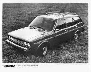 1976 Fiat 131 Station Wagon Press Photo 0008