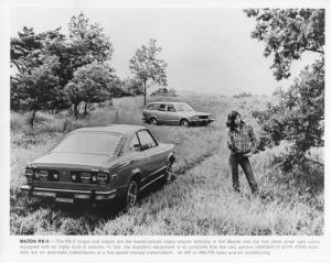 1976 Mazda RX-3 Coupe and Station Wagon Press Photo 0012
