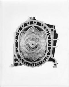 1976 Mazda Rotary Engine 5 Year Warranty Press Photo and Release 0037