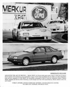 1987 Merkur XR4Ti Press Photo 0001