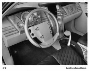 1998 Buick Signia Concept Vehicle Interior Press Photo 0068