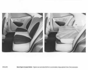 1998 Buick Signia Concept Vehicle Interior Press Photo 0069