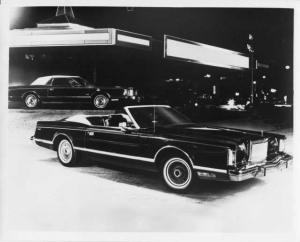 1978 Lincoln Mark V Convertible by American Custom Coachworks Press Photo 0052