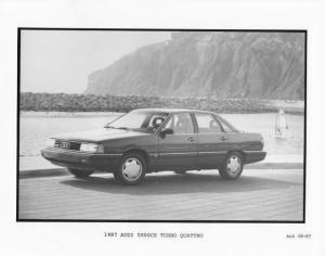 1987 Audi 5000CS Turbo Quattro Press Photo 0007