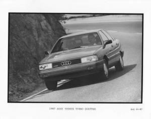 1987 Audi 5000CS Turbo Quattro Press Photo 0008