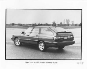 1987 Audi 5000CS Turbo Quattro Wagon Press Photo 0010