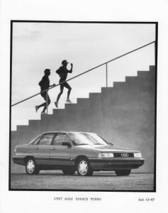 1987 Audi 5000CS Turbo Press Photo 0011