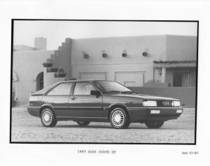 1987 Audi Coupe GT Press Photo 0015