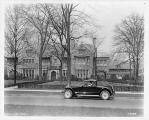 1926 Wills Sainte Claire AA Roadster Press Photo 0001