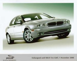 2001 Jaguar X-Type Color Press Photo 0010