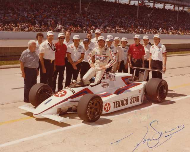 1984 Tom Sneva with Texaco Star March/Cosworth Indy 500 Race Car 0004
