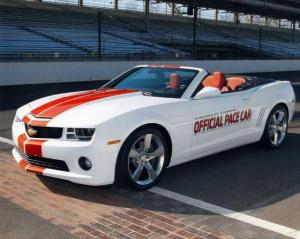 2011 Chevrolet Camaro Convertible Indy 500 Pace Car Color Press Photo 0065