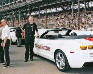 2011 Chevrolet Camaro Convertible Indy 500 Pace Car Color Press Photo 0067