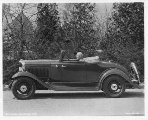 1932 Essex Terraplane Convertible Coupe Press Photo 0001