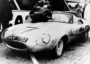 1960 Jaguar E2A Prototype Factory Press Photo 0021