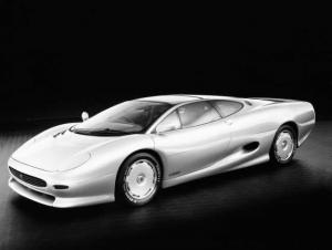 1988 Jaguar XJ220 Concept Car Factory Press Photo 0030