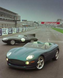 1998 Jaguar XK180 Concept Car Factory Press Photo 0032