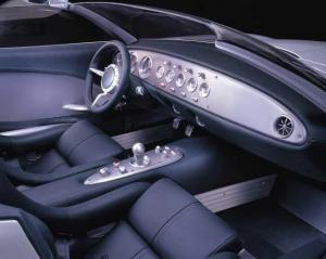 2000 Jaguar F-Type Concept Interior Car Factory Press Photo 0037