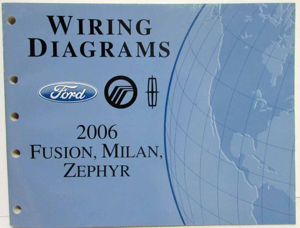 lincoln zephyr wiring diagram 2006 ford fusion mercury milan lincoln zephyr electrical wiring  2006 ford fusion mercury milan lincoln