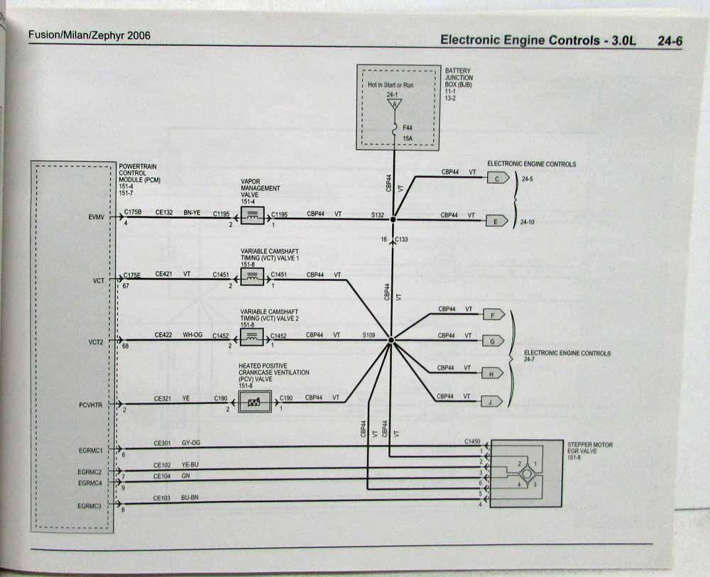 1951 mercury wiring diagram 2006 ford fusion mercury milan lincoln zephyr electrical wiring  2006 ford fusion mercury milan lincoln