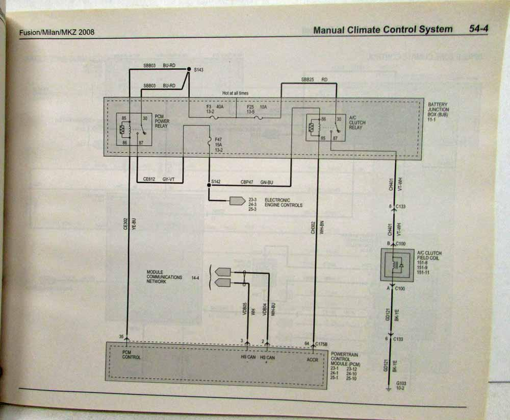 1951 mercury wiring diagram 2008 ford fusion mercury milan lincoln mkz electrical wiring  lincoln mkz electrical wiring