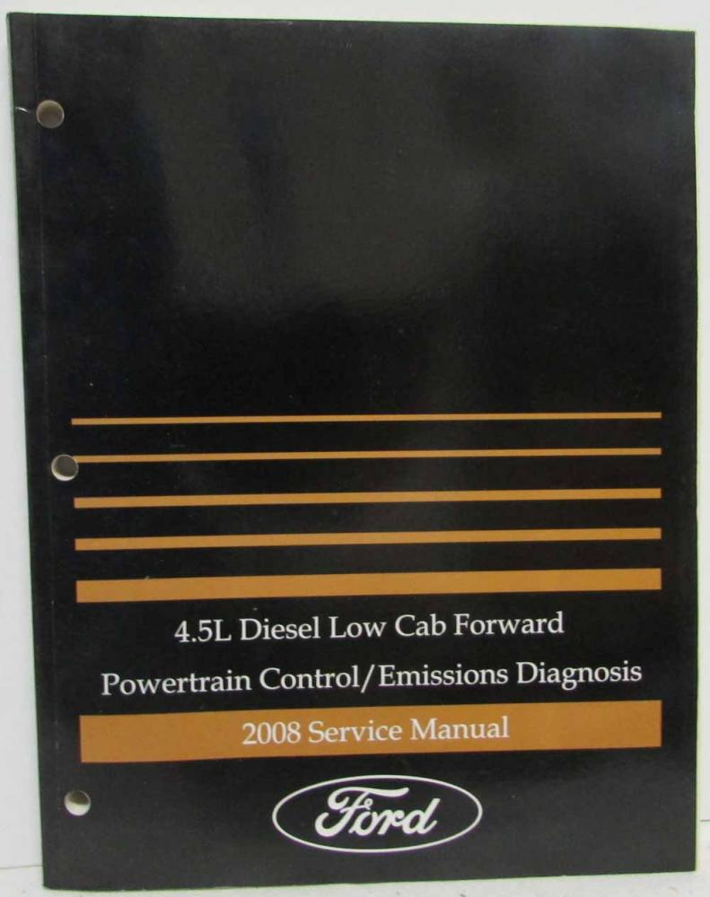 ford lcf fuel wiring diagram 2008 ford 4 5l lcf diesel powertrain control emissions diagnosis  2008 ford 4 5l lcf diesel powertrain