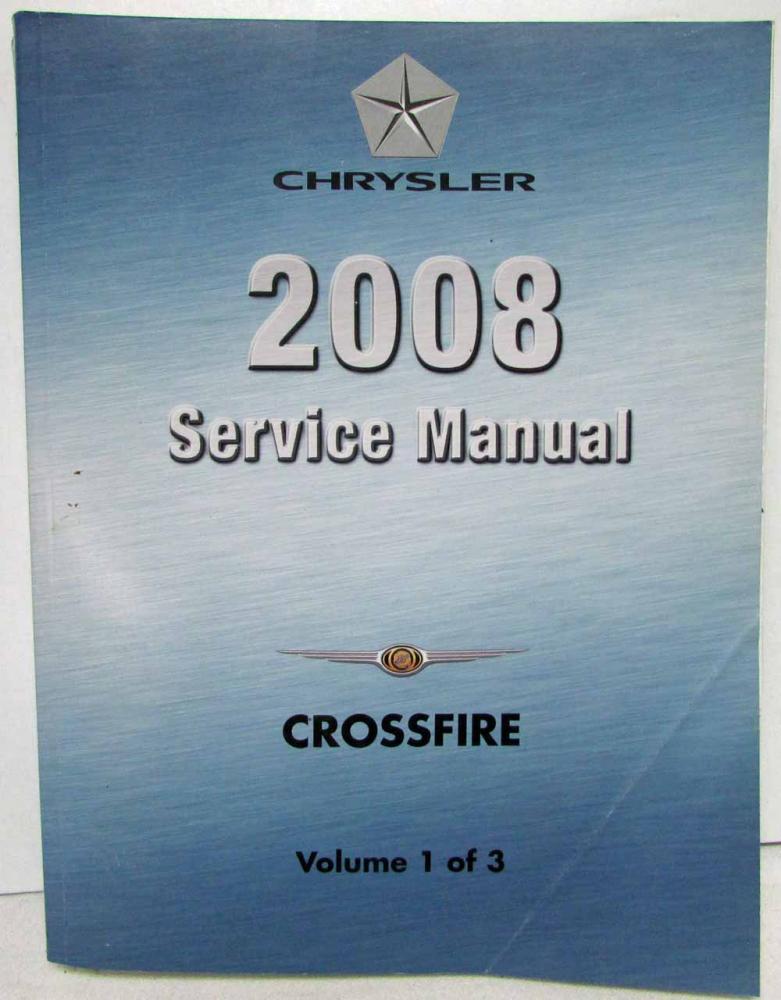 manual chrysler crossfire