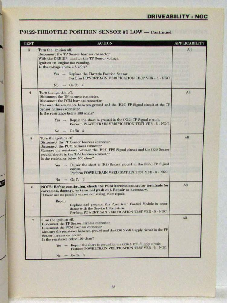 2003 Chrysler 300M/Concorde and Dodge Intrepid Service Shop Manual