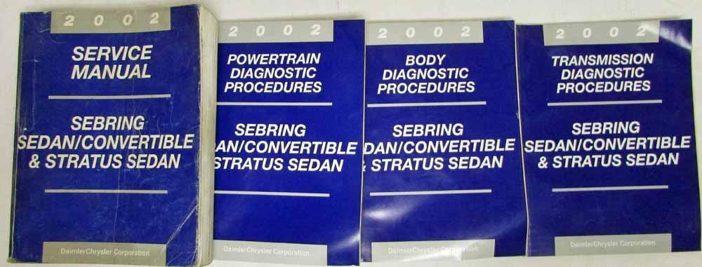 dodge stratus service manual