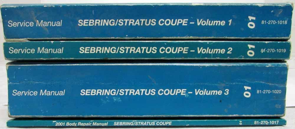 dodge stratus repair manual