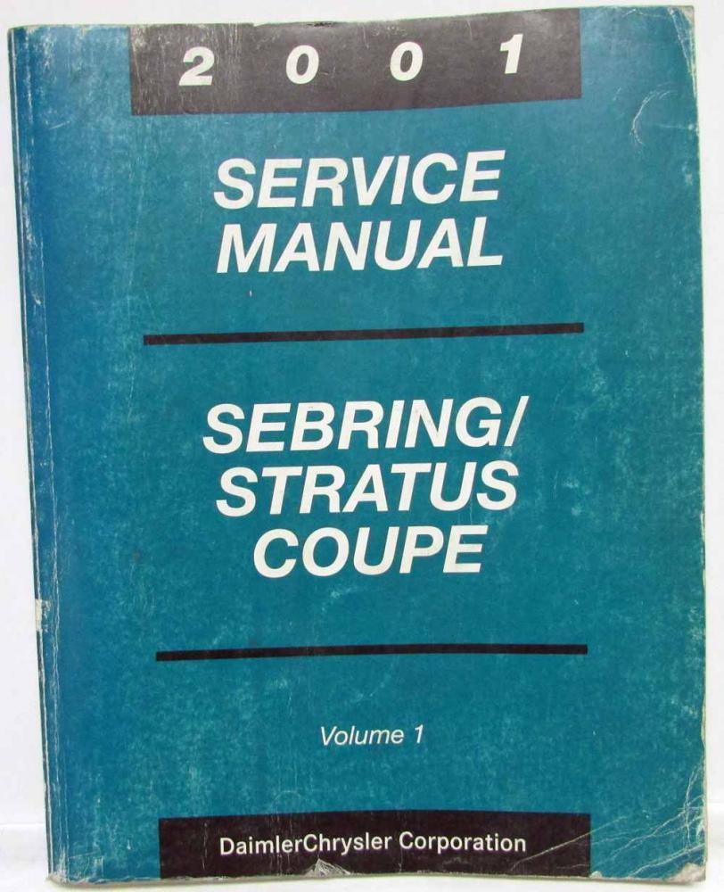 2001 chrysler sebring manual